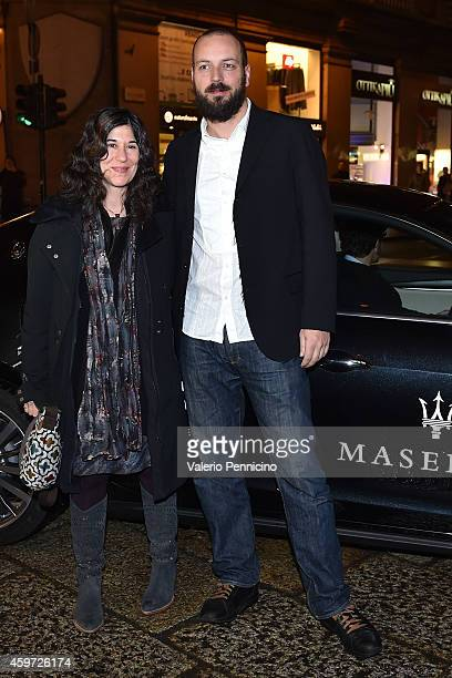 Debra Granik and Gyorgy Palfi attend Closing Ceremony during the 32nd Turin Film Festival on November 29 2014 in Turin Italy