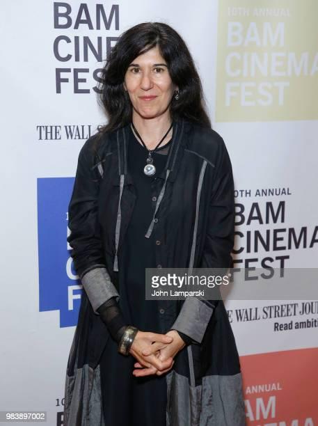 Debra Granik attends 2018 BAM Cinema Fest Centerpiece screening of 'Leave No Trace' at BAM Harvey Theater on June 25 2018 in New York City