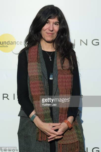 Debra Granik attends Kering presents Women in Motion a special screening of 'In Between' at Crosby Street Hotel on November 8 2017 in New York City