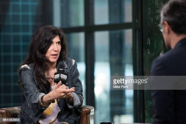 "Debra Granik visits Build Series to discuss ""Leave No Trace"" at Build Studio on June 26, 2018 in New York City."