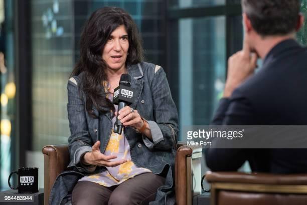Debra Granik visits Build Series to discuss 'Leave No Trace' at Build Studio on June 26 2018 in New York City