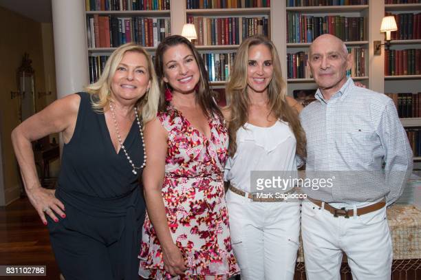 Debra Halpert Annie Falk Andrea Correale and Michael Braverman attend Hamptons Magazine's Private Dinner Celebrating East Hampton Library Authors...