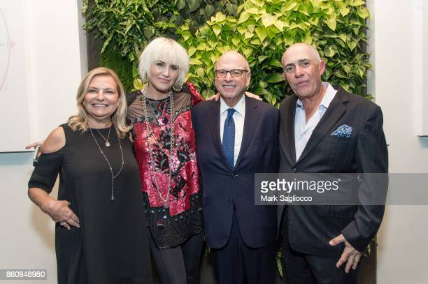 Debra Halpert ML Perlman Howard Lorber and Michael Namer attend the Alfa Development Launch Celebration on October 12 2017 in New York City