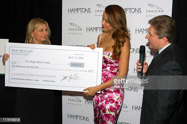 Debra Halpert Petra Nemcova and Gary Flom during Hamptons Magazine Celebrates the Premiere of its Spring Issue with Cover Girl Petra Nemcova and...