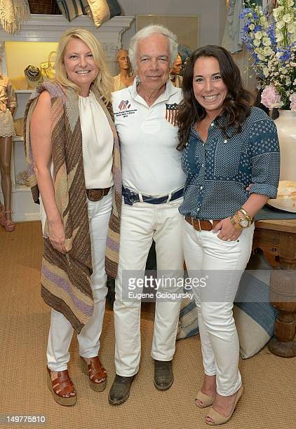 Debra Halpert Ralph Lauren and Samantha Yanks attend the Hamptons Magazine Celebration With Cover Star Ricky Lauren And Her New Book Ricky Lauren The...