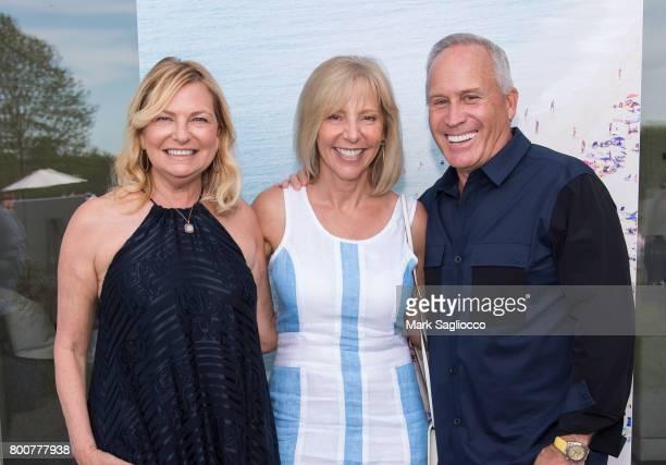 Debra Halpert Susan Breitenbach and Joe Farrell attend Hamptons Magazine and Matthew Breitenbach Celebration with Artist Gray Malin June 24 2017 in...