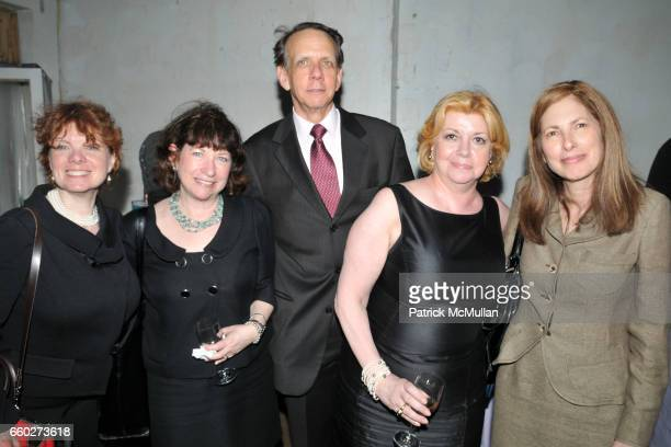 Debra Hazel Linda Alexander Martin Goldstein Faith Hope Consolo and Lisa Fitzig attend NEW YORK CITY's OPERA DIVAS Shop for Opera at 717 Madison Ave...