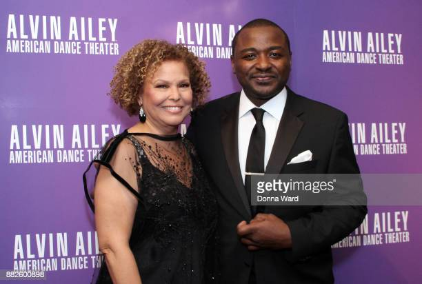 Debra L Lee and Robert Battle attend Alvin Ailey's 2017 Opening Night Gala at New York City Center on November 29 2017 in New York City