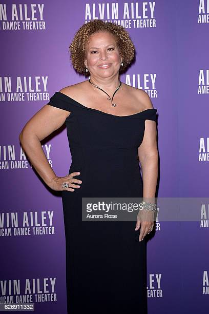 Debra L Lee attends Alvin Ailey American Dance Theater Opening Night Gala Benefit 'An Evening of Ailey and Jazz' at New York City Center on November...