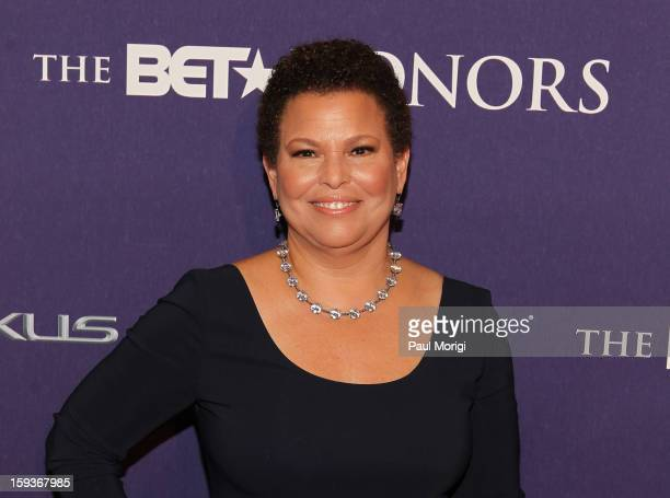 Debra L Lee attends BET Honors 2013 Red Carpet Presented By Pantene at Warner Theatre on January 12 2013 in Washington DC