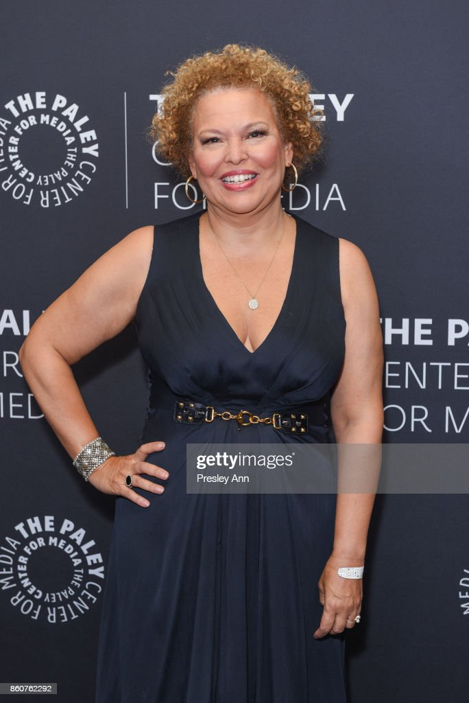 Debra L. Lee attends Paley Honors in Hollywood: A Gala Celebrating Women in Television at Regent Beverly Wilshire Hotel on October 12, 2017 in Beverly Hills, California.