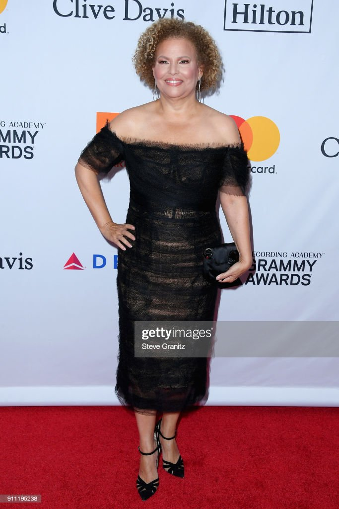 Debra L. Lee attends the Clive Davis and Recording Academy Pre-GRAMMY Gala and GRAMMY Salute to Industry Icons Honoring Jay-Z on January 27, 2018 in New York City.
