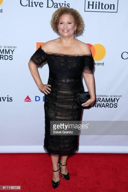 Debra L Lee attends the Clive Davis and Recording Academy PreGRAMMY Gala and GRAMMY Salute to Industry Icons Honoring JayZ on January 27 2018 in New...