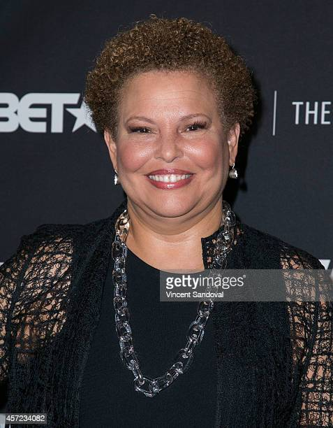 Debra L Lee attends The Paley Center for Media Presents an Evening with Real Husbands of Hollywood at The Paley Center for Media on October 14 2014...