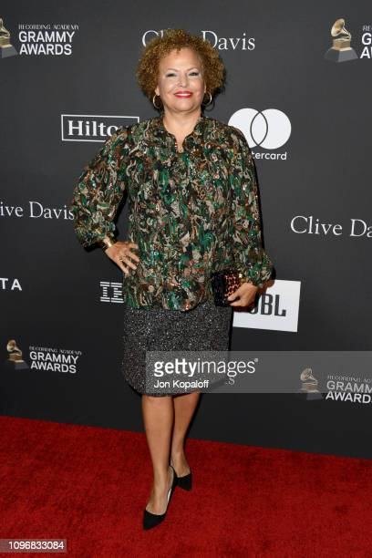 Debra L Lee attends The Recording Academy And Clive Davis' 2019 PreGRAMMY Gala at The Beverly Hilton Hotel on February 9 2019 in Beverly Hills...