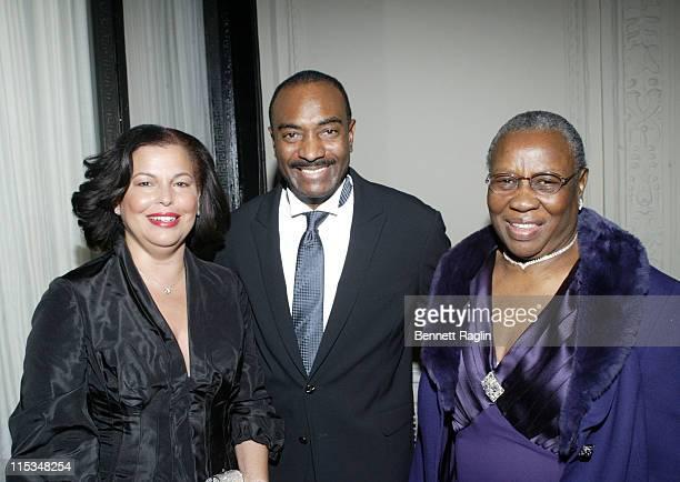 Debra L Lee CEO BET Reginald Van Lee and Marion Burnside