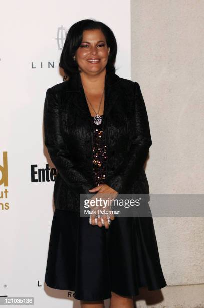 Debra L. Lee, President of BET during Kanye West's Heaven GRAMMY After Party Sponsored by Entertainment Weekly - Arrivals at The Lot Studios in West...