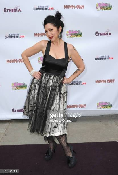 Debra Lamb arrives for the 2018 Etheria Film Night held at the Egyptian Theatre on June 16 2018 in Hollywood California