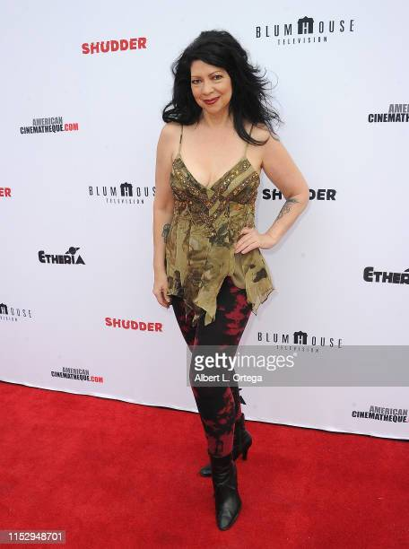Debra Lamb attends the 6th Annual Etheria Film Showcase held at American Cinematheque's Egyptian Theatre on June 29 2019 in Hollywood California