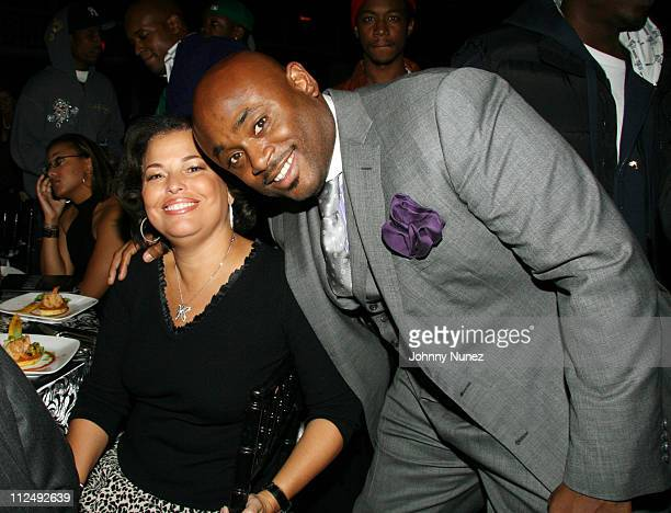 Debra Lee and Steve Stoute during HipHop Summit Action Awards at Light House Chelsea Piers in New York City New York United States