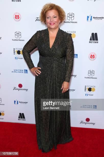Debra Lee attends Ebony Magazine's Ebony's Power 100 Gala at The Beverly Hilton Hotel on November 30 2018 in Beverly Hills California