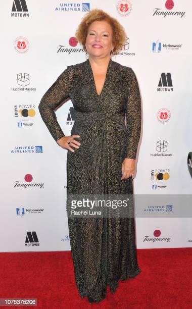 Debra Lee attends Ebony Magazine's 'Ebony's Power 100 Gala' at The Beverly Hilton Hotel on November 30 2018 in Beverly Hills California