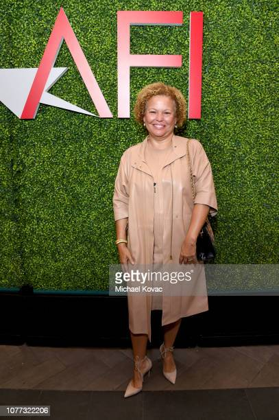 Debra Lee attends the 19th Annual AFI Awards at Four Seasons Hotel Los Angeles at Beverly Hills on January 4 2019 in Los Angeles California