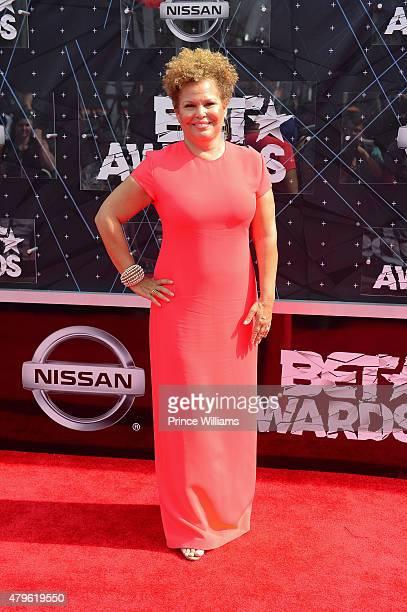 Debra Lee attends the 2015 BET awards on June 28, 2015 in Los Angeles, California.