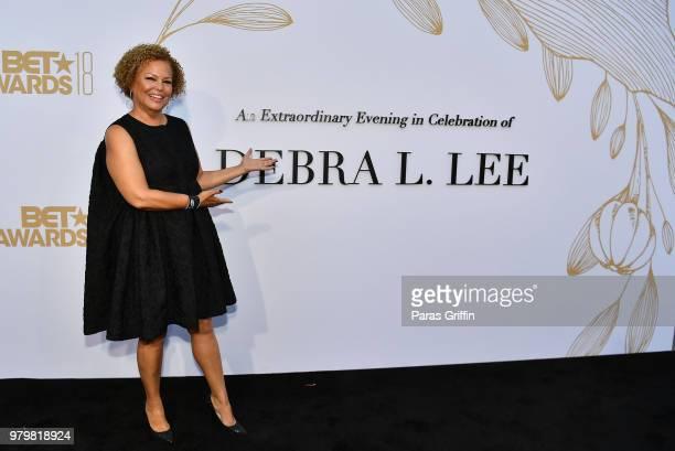 Debra Lee attends the Debra Lee PreBET Awards Dinner at Vibiana on June 20 2018 in Los Angeles California