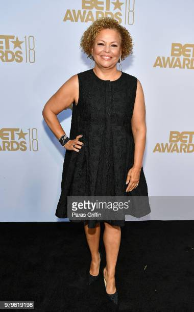 Debra Lee attends the Debra Lee PreBET Awards Dinner at Vibiana on June 20 2018 in Los Angeles California