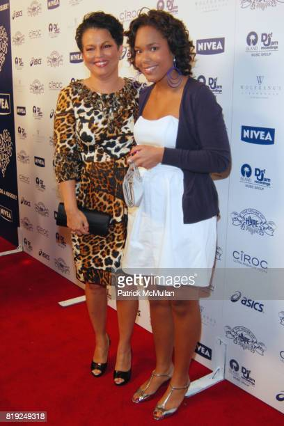 "Debra Lee Ava Coleman attend Island Def Jam and House of Hype Celebrate Antonio ""LA"" Reid's Annual Post Grammy Soiree at Wolfgang's Steakhouse on..."