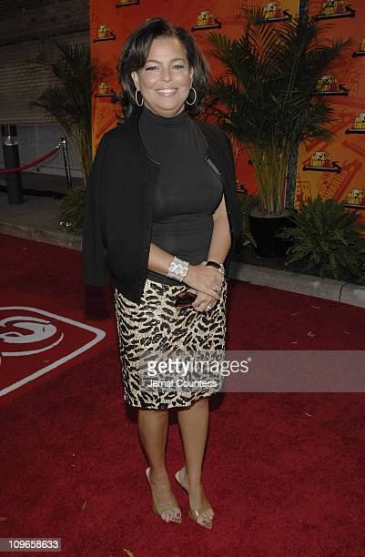 Debra Lee BET Chairman and CEO during 2006 BET HipHop Awards Black Carpet at Fox Theatre in Atlanta Georgia United States