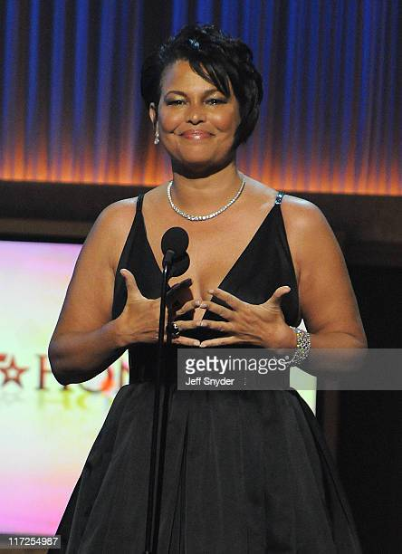 Debra Lee BET Networks Chairman of the Board and CEO speaks at the BET Honors held at the Warner Theater on January 12 2008 in Washington DC