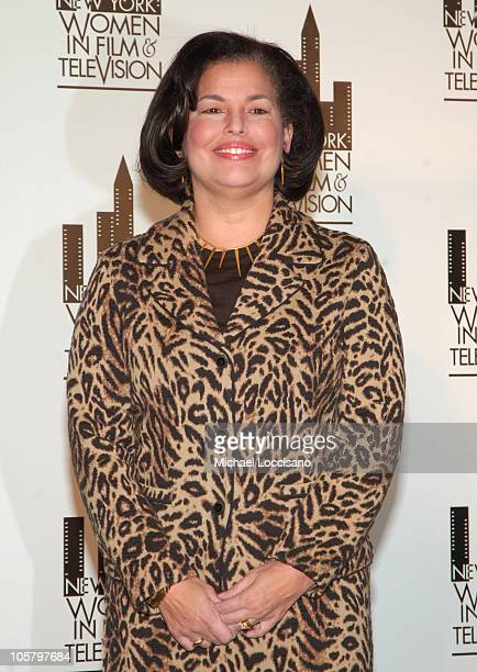 Debra Lee, CEO/President of BET and honoree during The 25th Annual Muse Awards Presented by New York Women in Film and Television at NY Hilton Grand...