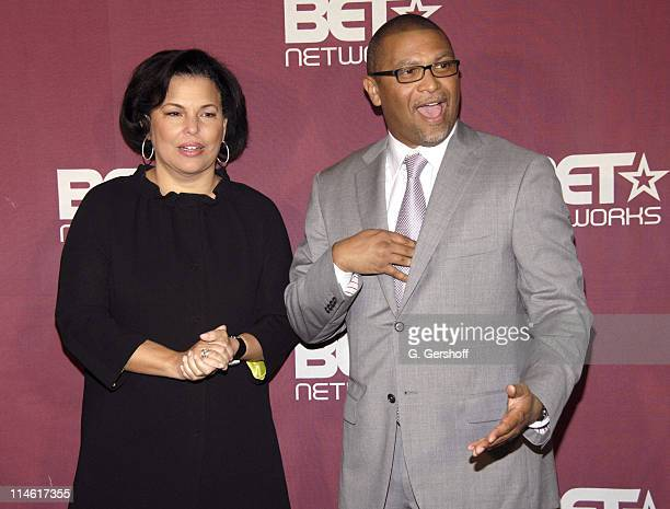Debra Lee, Chairman and CEO of BET and Reggie Hudlin, President of Entertainment