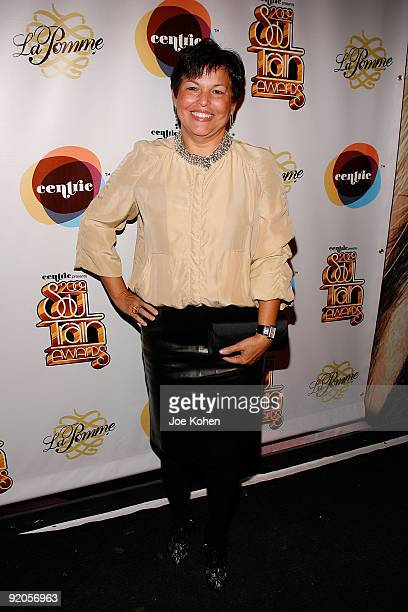 Debra Lee Chairman and CEO of BET attends the 2009 Soul Train Awards PreParty at La Pomme on October 19 2009 in New York City