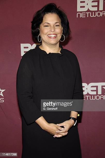 Debra Lee, Chairman and CEO of BET during 2007 BET Networks UpFront - Red Carpet and Cocktail Hour at Grand Ballroom in New York City, New York,...