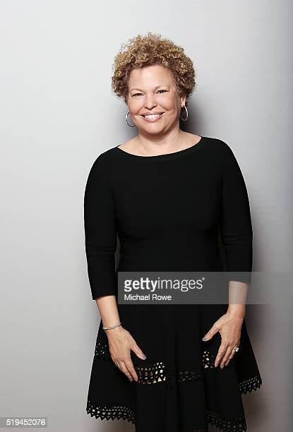 Debra Lee is photographed at the 2016 Black Women in Hollywood Luncheon for Essence.com on February 25, 2016 in Los Angeles, California.