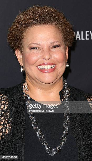 Debra Lee/Chairman/CEO/BET Networks attends The Paley Center for Media Presents An Evening with Real Husbands of Hollywood at The Paley Center for...