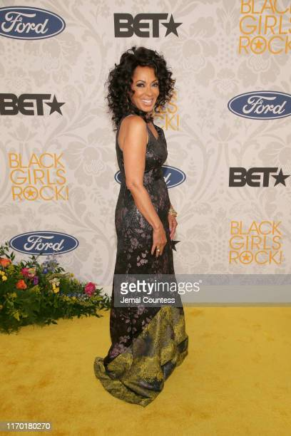 Debra Martin Chase attends Black Girls Rock 2019 Hosted By Niecy Nash at NJPAC on August 25 2019 in Newark New Jersey