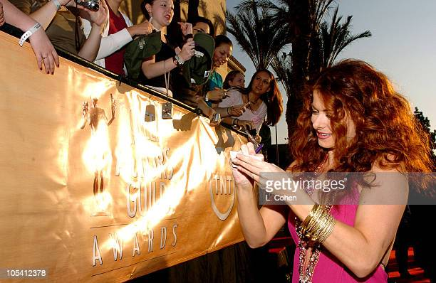 Debra Messing 8505_LC5_00039.jpg during TNT Broadcasts 11th Annual Screen Actors Guild Awards - Red Carpet at Shrine Auditorium in Los Angeles,...