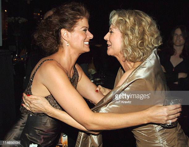 Debra Messing and Blythe Danner *Exclusive Coverage*