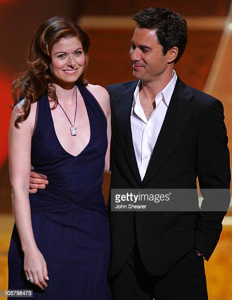 Debra Messing and Eric McCormack during 17th Annual GLAAD Media Awards Show at Kodak Theater in Los Angeles California United States