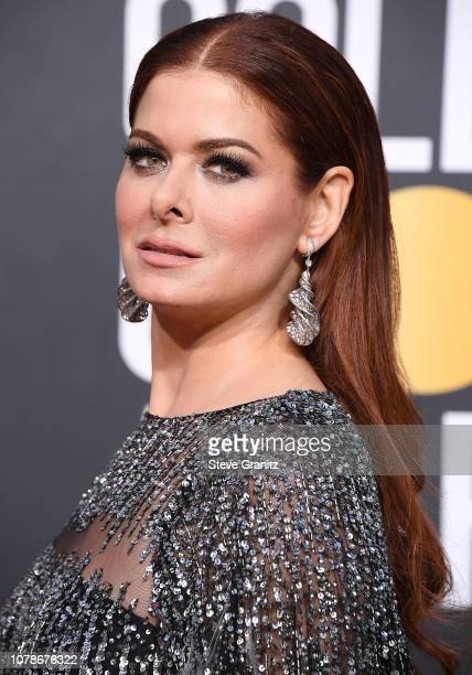 Debra Messing arrives at the 76th Annual Golden Globe Awardsat The Beverly Hilton Hotel on January 6 2019 in Beverly Hills California