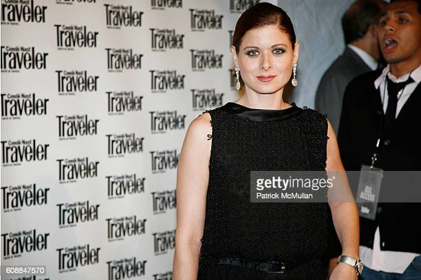Debra Messing attends CONDE NAST TRAVELER Readers' Choice Awards & 20TH Anniversary Party at Cooper-Hewitt National Design Museum on October 10, 2007...