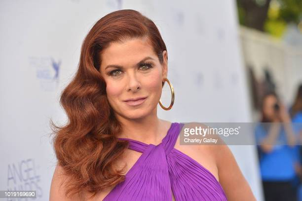 Debra Messing attends Project Angel Food's 2018 Angel Awards on August 18 2018 in Hollywood California