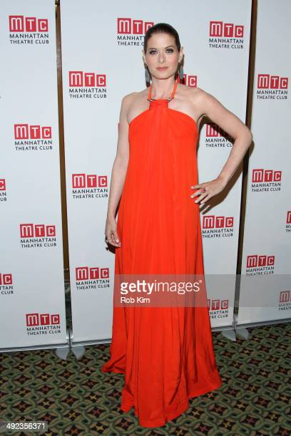 Debra Messing attends the 2014 Manhattan Theatre Club Spring Gala at Cipriani 42nd Street on May 19 2014 in New York City