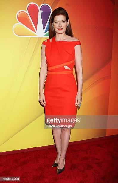 Debra Messing attends the 2014 NBC Upfront Presentation at The Jacob K. Javits Convention Center on May 12, 2014 in New York City.