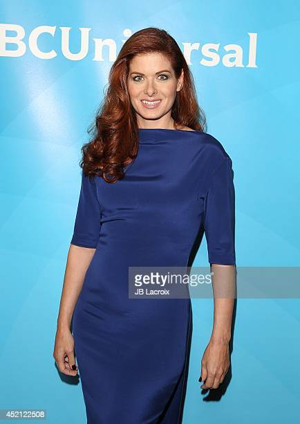 Debra Messing attends the 2014 Television Critics Association Summer Press Tour NBCUniversal Day 1 held at the Beverly Hilton Hotel on July 13 2014...