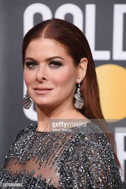 Debra Messing attends the 76th Annual Golden Globe Awards at The Beverly Hilton Hotel on January 6 2019 in Beverly Hills California